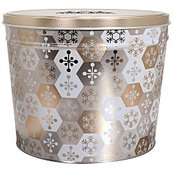 View a larger, more detailed picture of the 6-Way Tin - Design - 2 Gallon