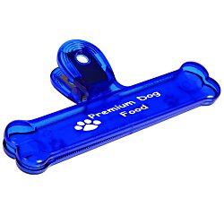 View a larger, more detailed picture of the Dog Bone Bag Clip - 6 - Translucent