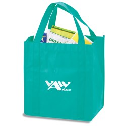 View a larger, more detailed picture of the Polypropylene Shopping Tote - 13 x 12
