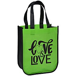 View a larger, more detailed picture of the Laminated Fashion Tote 11-3 4 x 9-1 4