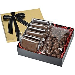 View a larger, more detailed picture of the Premium Confection w Cookies - Milk Chocolate Cashews