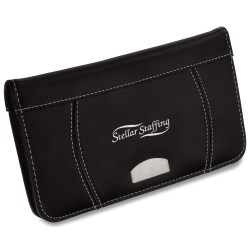 View a larger, more detailed picture of the Leather Business Card Holder