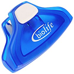 View a larger, more detailed picture of the Grip-It Clip - Translucent