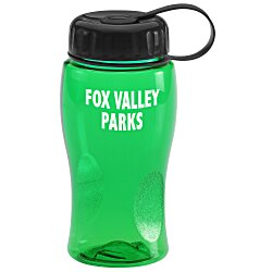 View a larger, more detailed picture of the Poly-Pure Lite Bottle - 18 oz - Tethered Lid