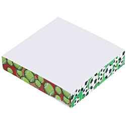 View a larger, more detailed picture of the Post-it&reg Notes Thin Cubes - 2-3 4 x 2-3 4 x 1 2