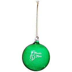 View a larger, more detailed picture of the Hand Blown Glass Ornament - 3 