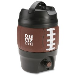 View a larger, more detailed picture of the Bubba Keg Gallon Kooler - 128 oz - Football