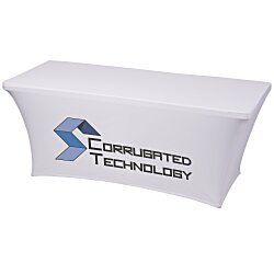 View a larger, more detailed picture of the UltraFit Table Cover - 6 - Front Panel - Full Color