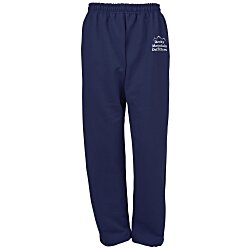 View a larger, more detailed picture of the Gildan 50 50 Open Bottom Sweatpants - Screen