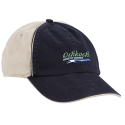 View a larger, more detailed picture of the Ashburn Two-Tone Embroidered Cap