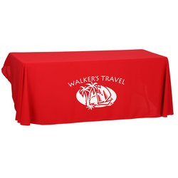View a larger, more detailed picture of the Open-Back Polyester Table Throw - 6