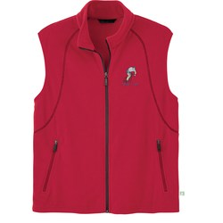 View a larger, more detailed picture of the Recycled Polyester Fleece Vest - Men s