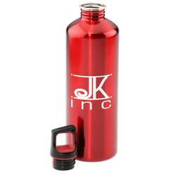 View a larger, more detailed picture of the h2go Classic Stainless Steel Sport Bottle - 24 oz
