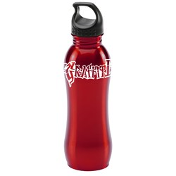 View a larger, more detailed picture of the h2go Balance Stainless Steel Sport Bottle - 24 oz