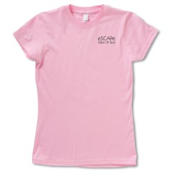 View a larger, more detailed picture of the Anvil Organic 4 5 oz Ringspun T-Shirt - Ladies - Colors
