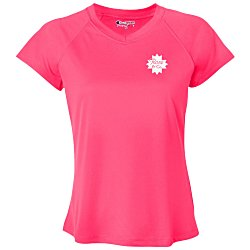 View a larger, more detailed picture of the Champion 4 oz Sport Performance T-Shirt - Ladies - Colors