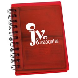 View a larger, more detailed picture of the 3 in 1 Notebook - Translucent