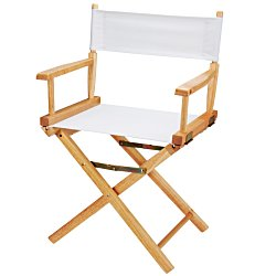 View a larger, more detailed picture of the Directors Chair - Table Height - Blank