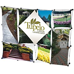 View a larger, more detailed picture of the 10 Geometric Dye-Sublimated Pop-Up Display
