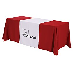 View a larger, more detailed picture of the 6 Closed-Back Table Throw and Runner Kit