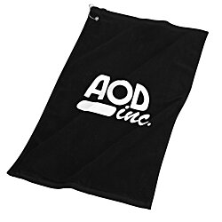 View a larger, more detailed picture of the Deluxe Hemmed Golf Towel - Colors - 24 hr
