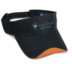 View a larger, more detailed picture of the Wave Sandwich Visor - Closeout Colors