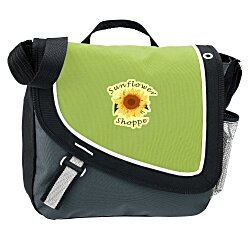 View a larger, more detailed picture of the A Step Ahead Messenger Bag - Full Color