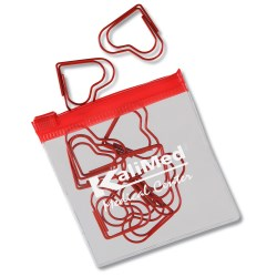 View a larger, more detailed picture of the Clipsters Paper Clip - Heart