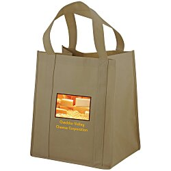 View a larger, more detailed picture of the Big Thunder Tote - 15 x 13 - Full Color