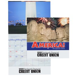View a larger, more detailed picture of the American Visions 2015 Calendar - Stapled - Closeout