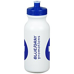 View a larger, more detailed picture of the Sport Bottle w Push Pull Cap - 20 oz - Fill Me