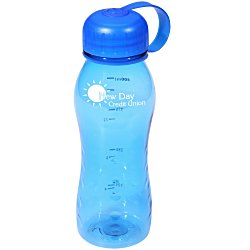 View a larger, more detailed picture of the Sport Wave Tritan Bottle - 18 oz