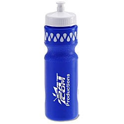 View a larger, more detailed picture of the Sport Bottle w Push Pull Cap - 28 oz - Colors - Fill Me