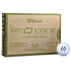View a larger, more detailed picture of the Wilson Eco Core Golf Ball - Dozen - Quick Ship