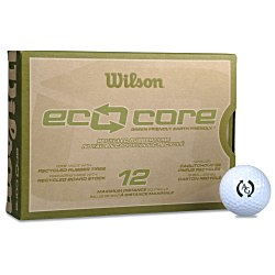 View a larger, more detailed picture of the Wilson Eco Core Golf Balls - Dozen - Standard Ship