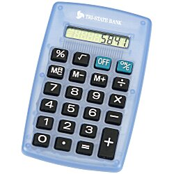 View a larger, more detailed picture of the Classic Calculator - Translucent