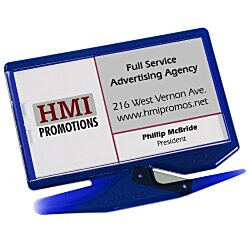 View a larger, more detailed picture of the Zippy Magnetic Business Card Letter Opener Translucent