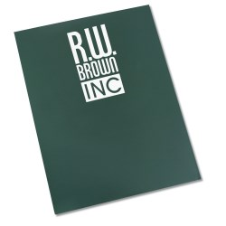 View a larger, more detailed picture of the Paper Presentation Folder - Recycled