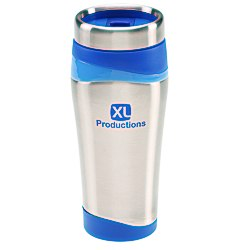 View a larger, more detailed picture of the Color Touch Stainless Tumbler - 16 oz