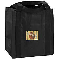 View a larger, more detailed picture of the Little Thunder Tote - 13 x 12 - Full Color