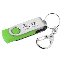 View a larger, more detailed picture of the Swing USB Drive - 4GB