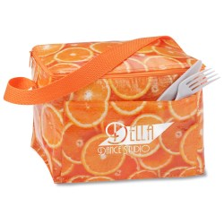 View a larger, more detailed picture of the PhotoGraFX Six Pack Cooler - Oranges