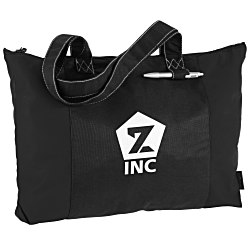 View a larger, more detailed picture of the 100 Recycled PET Laguna Zippered Tote