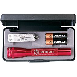 View a larger, more detailed picture of the Mini MagLite w Leatherman Micra Tool
