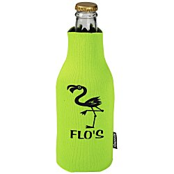 View a larger, more detailed picture of the Zip-Up Bottle KOOZIE&reg Kooler - 24 hr