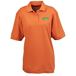 View a larger, more detailed picture of the Soft Touch Pique Sport Shirt - Ladies
