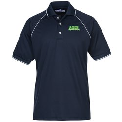 View a larger, more detailed picture of the Raglan Sleeve Polo w Piping - Men s