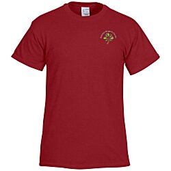 View a larger, more detailed picture of the Gildan 6 1 oz Ultra Cotton T-Shirt - Men s - Emb - Colors