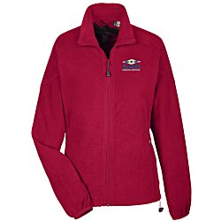 View a larger, more detailed picture of the Raglan Sleeve Microfleece Jacket - Ladies