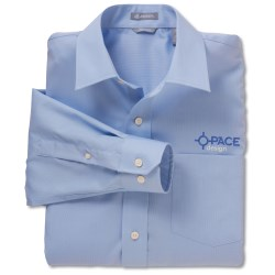 View a larger, more detailed picture of the Jockey Wrinkle-Resistant Textured Broadcloth Shirt - Men s